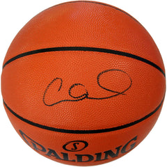 Allan Houston New York Knicks Signed Autographed Spalding NBA Game Ball Series Basketball CAS COA