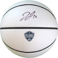 Donte DiVincenzo Villanova Wildcats National Champions Signed Autographed White Panel Basketball JSA COA