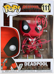Rob Liefeld Signed Autographed Deadpool FUNKO POP #111 Vinyl Figure Global COA