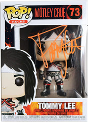 Tommy Lee Motley Crew Signed Autographed FUNKO POP #73 Vinyl Figure Global COA