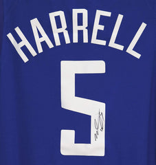 Montrezl Harrell Los Angeles Clippers Signed Autographed Blue #5 Jersey