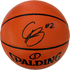Cam Reddish Atlanta Hawks Signed Autographed Spalding NBA Game Ball Series Basketball CAS COA