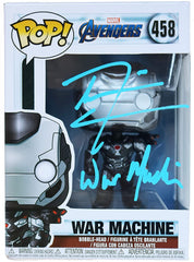 Don Cheadle Signed Autographed War Machine Marvel Avengers FUNKO POP #458 Vinyl Figure Global COA