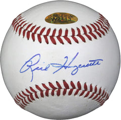 Rick Honeycutt Los Angeles Dodgers Texas Rangers Oakland Athletics Signed Autographed Rawlings Official League Baseball Witnessed LSC COA