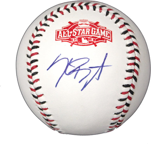 Kris Bryant Chicago Cubs Signed Autographed Rawlings 2015 All-Star Game Official Baseball AI COA with Display Holder