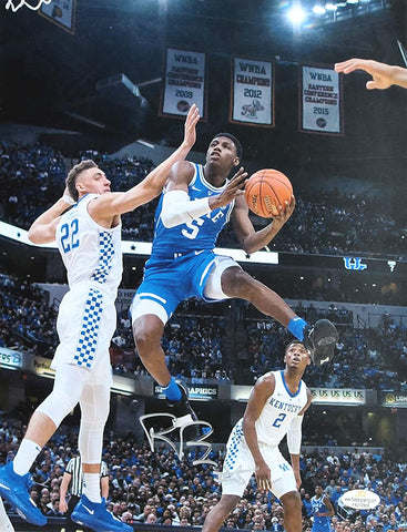"RJ Barrett Duke Blue Devils Signed Autographed 10-3/4"" x 13-7/8"" Photo"