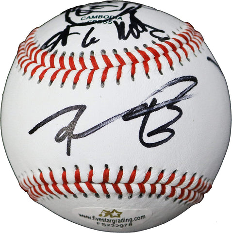 Robert Kirkman The Walking Dead Signed Autographed Rawlings Official League Baseball with Display Holder