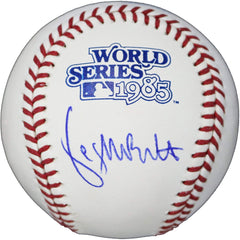 George Brett Kansas City Royals Signed Autographed Rawlings Official 1985 World Series Baseball Global COA with Display Holder