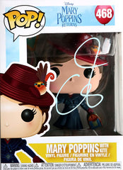 Emily Blunt Signed Autographed Mary Poppins FUNKO POP #468 Vinyl Figure Global COA