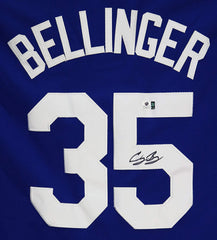 Cody Bellinger Los Angeles Dodgers Signed Autographed Blue #35 Jersey Global COA