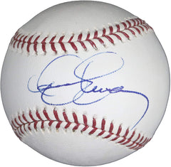 Dennis Eckersley HOF Oakland Athletics Boston Red Sox Cleveland Indians Signed Autographed Rawlings Official Major League Baseball JSA COA with Display Holder