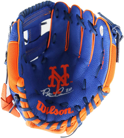 Pete Alonso New York Mets Signed Autographed Wilson Youth T-Ball Glove PAAS COA
