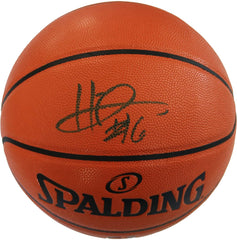 Hamidou Diallo Oklahoma City Thunder Slam Dunk Champion Signed Autographed Spalding NBA Game Ball Series Basketball CAS COA