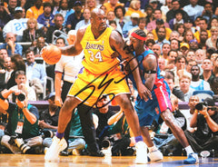 "Shaquille O'Neal Los Angeles Lakers Signed Autographed 11"" x 14"" Photo PAAS COA"