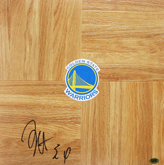 Shaun Livingston Golden State Warriors Signed Autographed Basketball Floorboard CAS COA