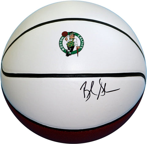 Brad Stevens Boston Celtics Signed Autographed White Panel Basketball JSA COA