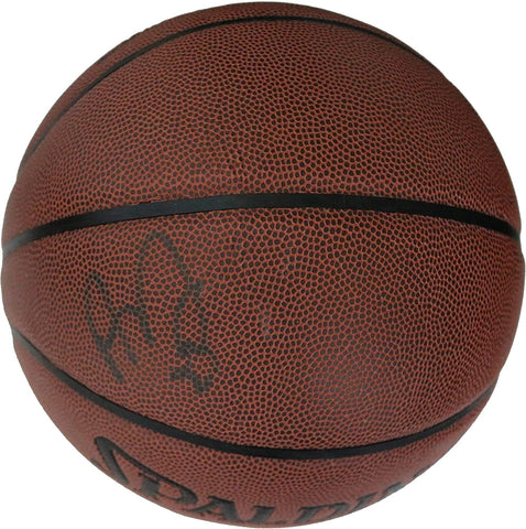 Anthony Davis Los Angeles Lakers Signed Autographed Spalding Basketball Global COA