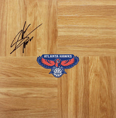 Shelvin Mack Atlanta Hawks Signed Autographed Basketball Floorboard
