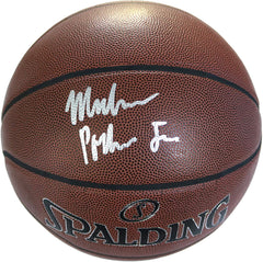 Michael Porter Jr. Denver Nuggets Signed Autographed Spalding NBA Basketball JSA COA