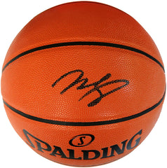 Mohamed Bamba Orlando Magic Signed Autographed Spalding NBA Game Ball Series Basketball CAS COA