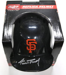 Willie Mays San Francisco Giants Signed Autographed Mini Helmet Global COA