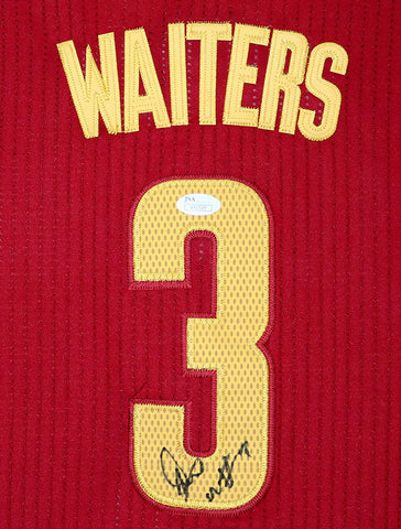 Dion Waiters Cleveland Cavaliers Signed Autographed Red #3 Jersey JSA COA