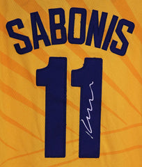 Domantas Sabonis Indiana Pacers Signed Autographed Yellow #11 Jersey