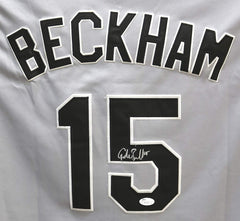 Gordon Beckham Chicago White Sox Signed Autographed Gray #15 Jersey JSA COA