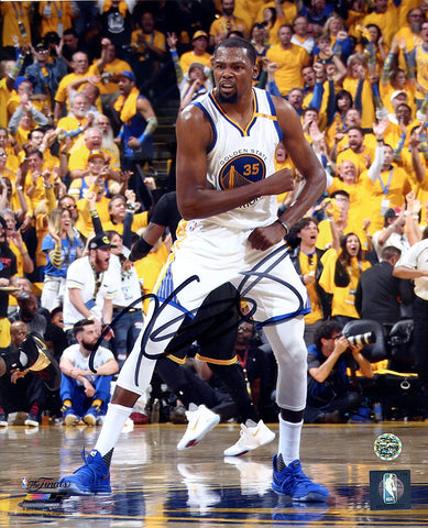 "Kevin Durant Golden State Warriors Signed Autographed 8"" x 10"" Celebration Photo"
