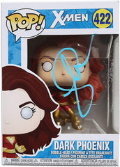Sophie Turner Signed Autographed Dark Phoenix X-Men FUNKO POP #422 Vinyl Figure Global COA