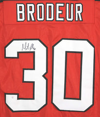 Martin Brodeur New Jersey Devils Signed Autographed Red #30 Custom Jersey PAAS COA