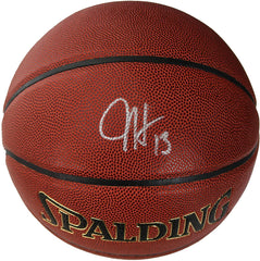 James Harden Houston Rockets Signed Autographed Spalding NBA Basketball PAAS COA