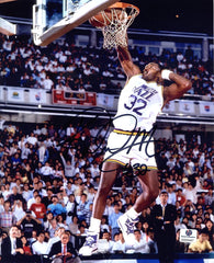 "Karl Malone Utah Jazz Signed Autographed 8"" x 10"" Dunk Photo"