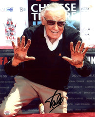 "Stan Lee Marvel Comics Signed Autographed 8"" x 10"" Walk of Fame Photo PAAS COA"