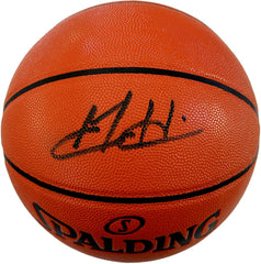 Grant Hill Detroit Pistons Signed Autographed Spalding NBA Game Ball Series Basketball CAS COA