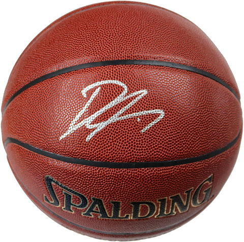Dennis Smith Jr. New York Knicks Signed Autographed Spalding Basketball CAS COA
