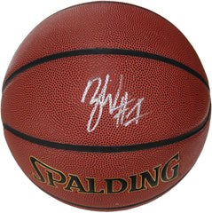 Zion Williamson New Orleans Pelicans Signed Autographed Spalding NBA Basketball