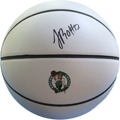 Terry Rozier Boston Celtics Signed Autographed White Panel Basketball JSA COA