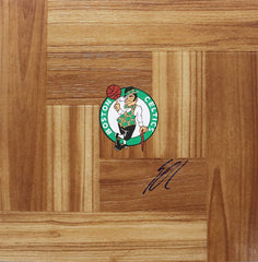 Enes Kanter Boston Celtics Autographed Signed Basketball Floorboard