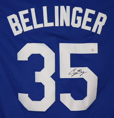 Cody Bellinger Los Angeles Dodgers Signed Autographed Blue #35 Jersey PAAS COA