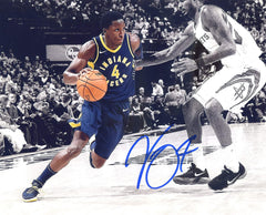 "Victor Oladipo Indiana Pacers Signed Autographed 8"" x 10"" Dribbling Photo"