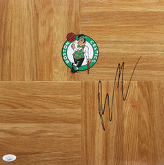 Brian Scalabrine Boston Celtics Signed Autographed Basketball Floorboard JSA COA