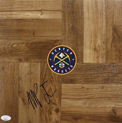 Michael Porter Jr. Denver Nuggets Signed Autographed Basketball Floorboard JSA COA