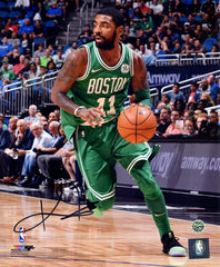 "Kyrie Irving Boston Celtics Signed Autographed 8"" x 10"" Dribbling Photo"