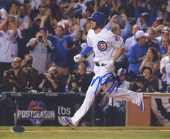 "Kris Bryant Chicago Cubs Signed Autographed 8"" x 10"" Running Photo PAAS COA"