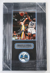 "Shaquille O'Neal Orlando Magic Signed Autographed 22"" x 14"" Framed Photo"