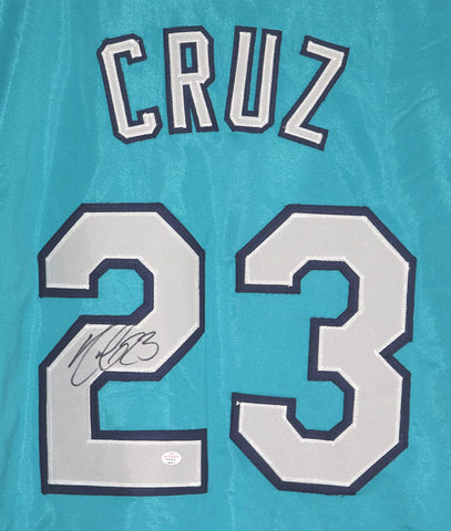 Nelson Cruz Seattle Mariners Signed Autographed Teal #23 Custom Jersey PAAS COA