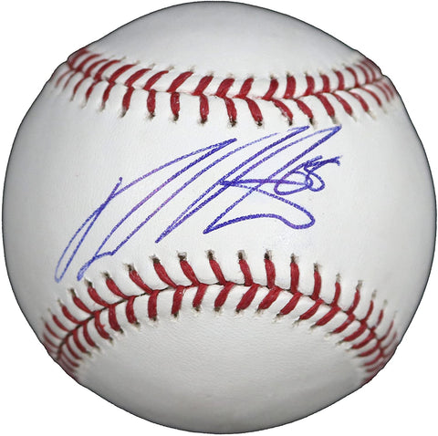 Dellin Betances New York Yankees Signed Autographed Rawlings Official Major League Baseball with Display Holder