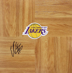 Earl Clark Los Angeles Lakers Signed Autographed Basketball Floorboard