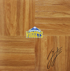 Ty Lawson Denver Nuggets Signed Autographed Basketball Floorboard